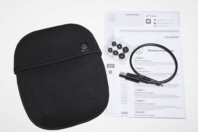 Наушники AUDIO-TECHNICA ATH-DSR5BT - рис.4