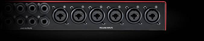 Аудиоинтерфейс FOCUSRITE Scarlett 18i20 USB 2nd Gen - рис.8