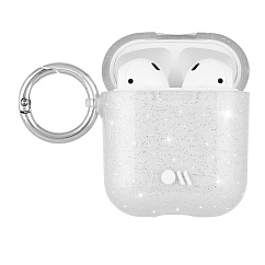 Чехол для Airpods Case-Mate Airpods Hook Ups Case Crystal Clear