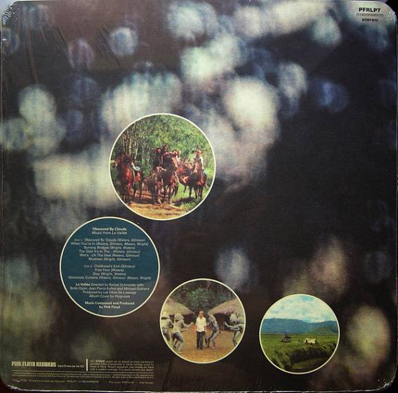 Пластинка Pink Floyd - Obscured By Clouds - рис.1