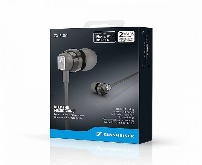 Наушники Sennheiser CX 3.00 White - рис.3