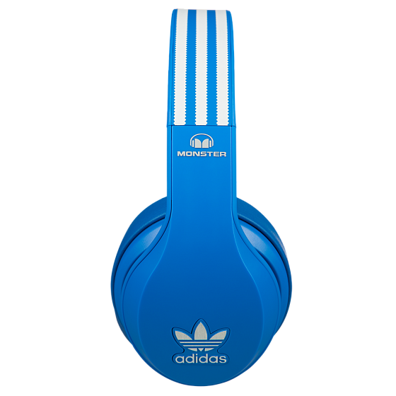 Наушники MONSTER ADIDAS® ORIGINALS OVER EAR HEADPHONES (BLUE) - рис.3