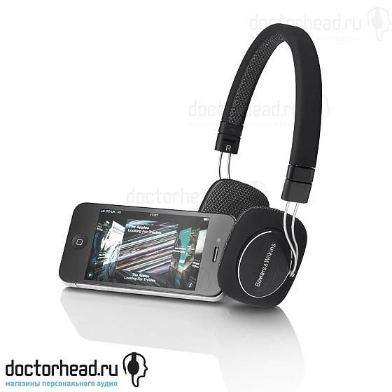 Наушники Bowers & Wilkins P3 Black - рис.4