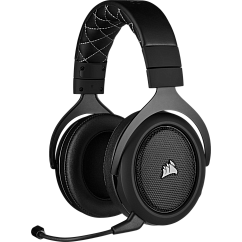 Игровые наушники Corsair Gaming HS70 PRO Wireless Carbon