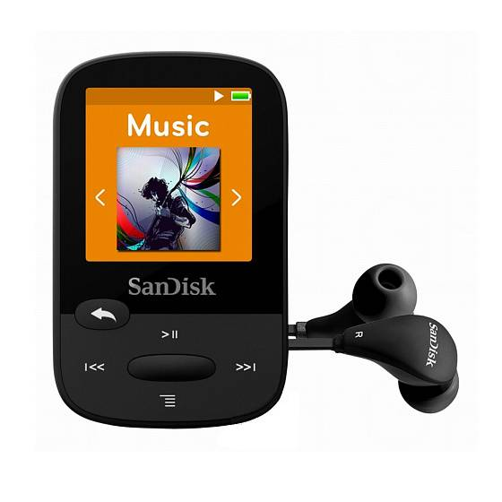 Плеер SanDisk Sansa Clip Sports 8GB Black