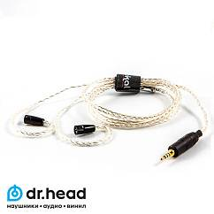 Кабель Labkable Silver Galaxy 8wire for Sennheiser IE80
