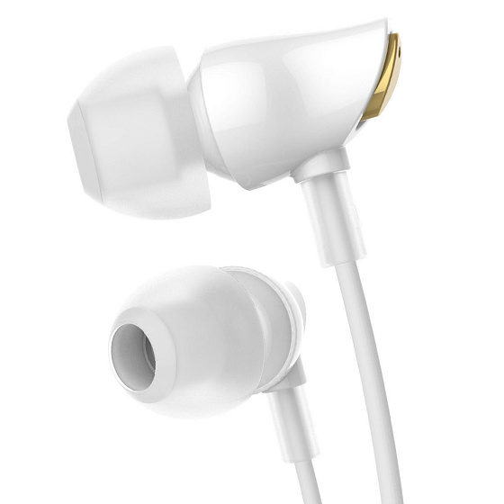 Наушники Rock Zircon Stereo Earphone White