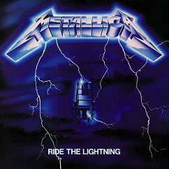 Пластинка METALLICA RIDE THE LIGHTNING