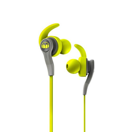 Наушники MONSTER ISPORT Compete IN-EAR (Green)