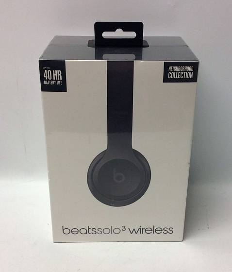 Беспроводные наушники Beats Solo 3 Wireless Neighborhood Collection Asphalt Gray - рис.10