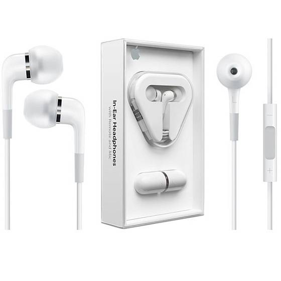 Наушники Apple In-Ear Headphones with Remote and Mic - рис.4