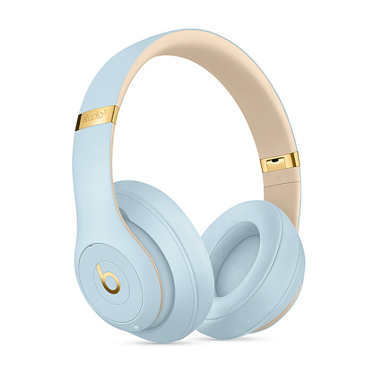 Беспроводные наушники Beats Studio 3 Wireless Skyline Collection Crystal Blue - рис.4