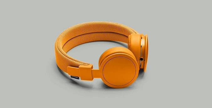 Наушники Urbanears PLATTAN ADV BONFIRE ORANGE - рис.1