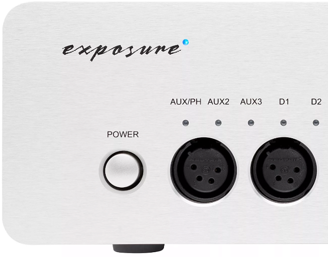 Усилитель Exposure XM HP Headphone Amplifier Silver - рис.2
