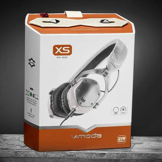 Наушники V-Moda XS On-Ear White - рис.11