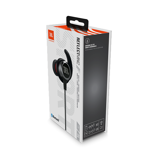 Наушники JBL Reflect Mini 2 Black - рис.5