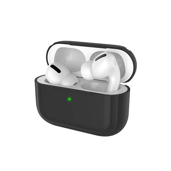 Чехол для Airpods Pro Deppa Case for AirPods Pro Black - рис.1