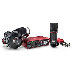 Аудиоинтерфейс FOCUSRITE Scarlett Studio 2i2 2nd Gen