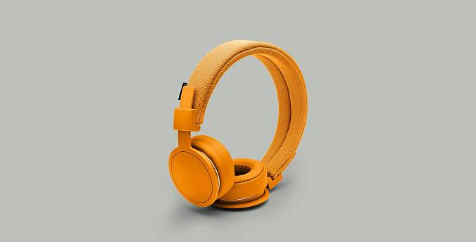 Наушники Urbanears PLATTAN ADV BONFIRE ORANGE - рис.4