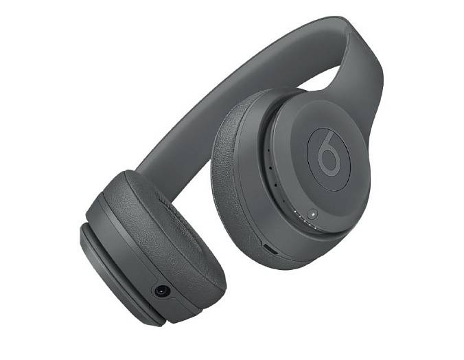 Беспроводные наушники Beats Solo 3 Wireless Neighborhood Collection Asphalt Gray - рис.3