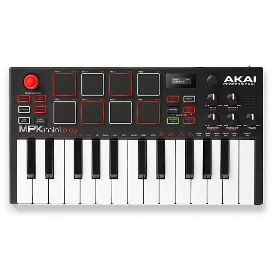 MIDI-клавиатура AKAI PRO MPK MINI PLAY USB - рис.1