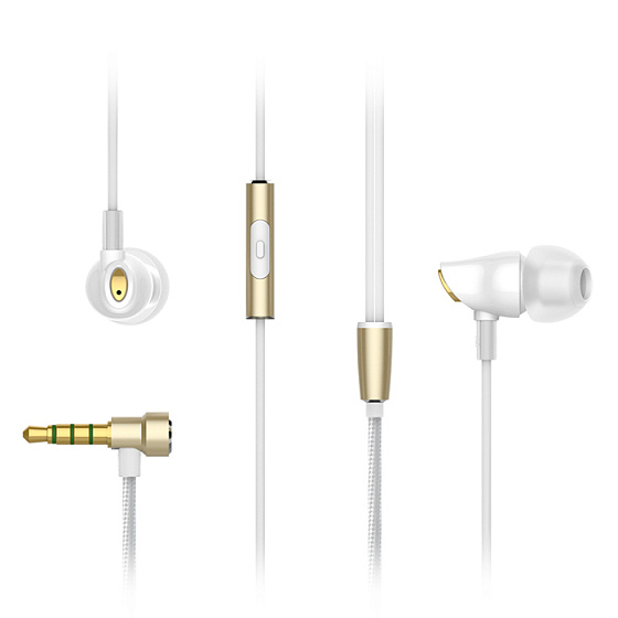 Наушники Rock Zircon Stereo Earphone White - рис.3