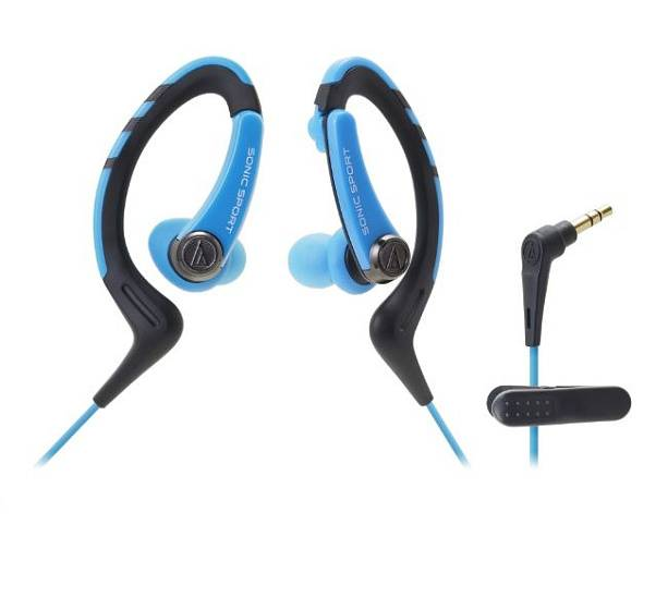 Наушники AUDIO-TECHNICA ATH-SPORT1 Blue
