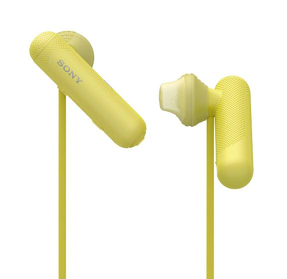 Наушники Sony WI-SP500 Yellow - рис.2