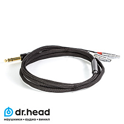 Кабель Labkable SilverGold Sennheiser HD800 to jack 6.3mm