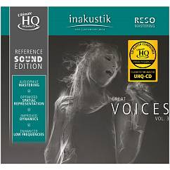 CD-диск Inakustik CD Great Voices Vol. III